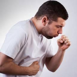 درمان سرفه با طب سوزنی Cough