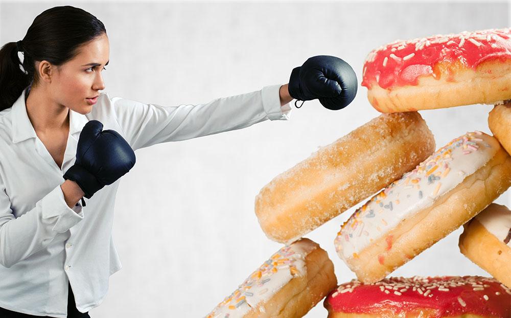 اعتیاد به خوردن شیرینی را برای همیشه ترک کنید