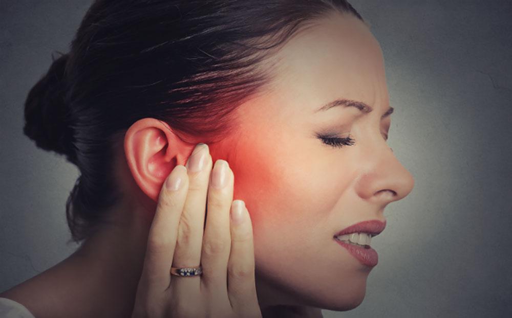 درمان عفونت گوش با طب سوزنی